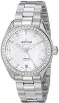 Alpina Women's AL-525STD2CD6B Comtesse Analog Display Automatic Self Wind Silver Watch