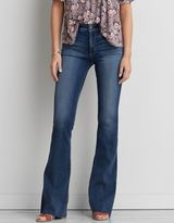 American Eagle Outfitters AE Denim X Hi-Rise Slim Flare Jean