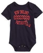 Infant Nfl Logo New England Patriots Fan-Atic Football Bodysuit