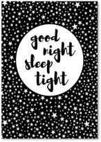 Americanflat Goodnight Print Art, Print Only