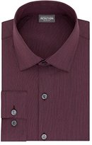 Kenneth Cole Reaction Men's Technicole Slim Fit Stretch Solid Spread Collar Dress Shirt