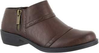 Easy Street Shoes Textured Side-Zip Comfort Shooties- Ira
