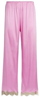 Marjolaine Jaguar Silk Pyjama Bottoms
