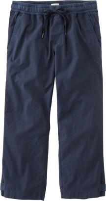 L.L. Bean Women's Stretch Ripstop Pull-On Capri Pants