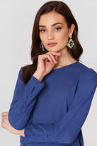 MANGO Buttoned Sleeves Blouse