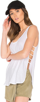 Lanston Side Strap Tank in White. - size S (also in )