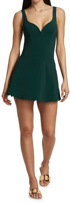 Karla Colletto Swim Ines A-Line Skirt