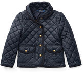 Ralph Lauren 2-6X Quilted Barn Jacket