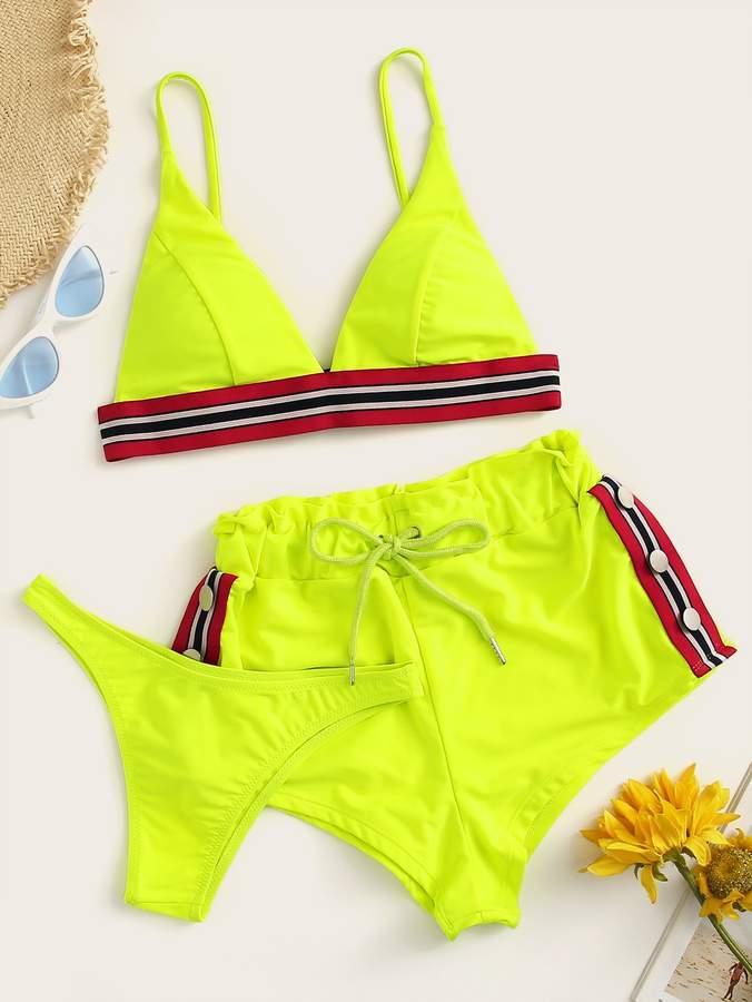 0e8d56dbc0ef6 Neon Stripe Bikini - ShopStyle