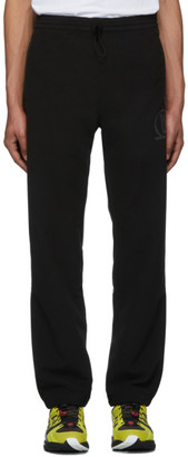 AFFIX Black Polar Fleece Lounge Pants