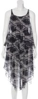 Thomas Wylde Silk Bullet Print Dress