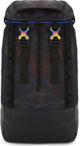 Eastpak Mens Black Printed Retro Bust Oily Backpack