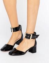 Asos SUKI Square Toe Heels