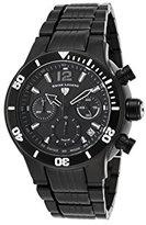 Swiss Legend Men's 14083SM-BB-11 Sharkarma Analog Display Swiss Quartz Black Watch