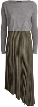 AllSaints Evetta 2-In-1 Dress