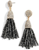 BaubleBar Mini Metallic Piñata Tassel Earrings