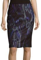 T Tahari Fitted Zipped Skirt