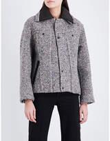 Craig Green Bounded speckled wool-blend jacket