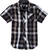 Zoo York Short-Sleeve Button-Front Plaid Shirt - Boys 8-20