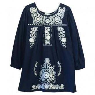 Yumi Star \N Navy Cotton Dresses