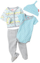 Skip Hop Newborn Boys) 4-Piece Bodysuit & Pants Set