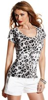 Marciano Spring Leopard-Print Sweater