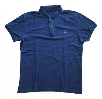 Gant Blue Cotton Polo shirts