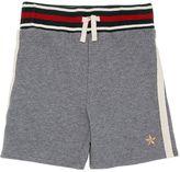 Gucci Cotton Blend Jogging Shorts