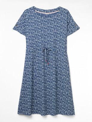 White Stuff Bao Crinkle Dress