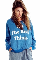 Wildfox Couture The Real Thing Oversized Sweatshirt in Howl