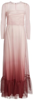 RED Valentino Ombre Tulle Gown