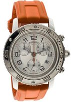 Hermes Clipper GM Chronograph Watch