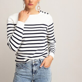 Organic Cotton Breton-Striped Jumper