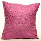 "Idea Nuova Starburst 16"" Square Decorative Pillow"