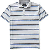 Callaway Heathered Striped Polo Shirt