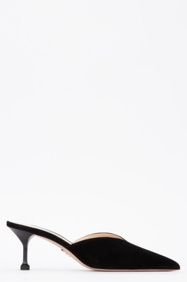 Prada Pointed Toe Mules