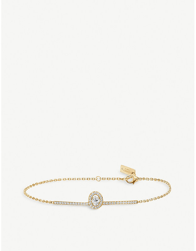 Messika Glam'Azone 18ct yellow-gold and diamond bracelet