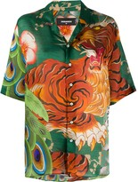 DSQUARED2 Jungle Tiger print shirt