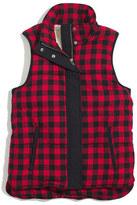 Madewell Fireside Vest in Buffalo Plaid