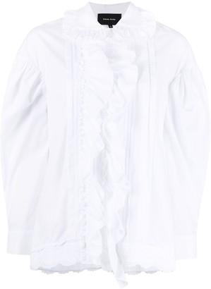 Simone Rocha Ruffle-Trim Shirt
