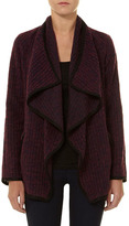Dorothy Perkins Berry waterfall coatigan