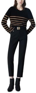 Marella Striped Crewneck Sweater