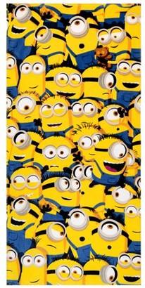 Despicable Me Kids Super Soft Cotton Beach Towel, 28x58, Minions