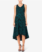 Catherine Malandrino Pilar High-Low A-Line Midi Dress
