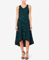 Catherine Malandrino Pilar High-Low A-Line Midi Dress