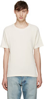 Fanmail Off-White Waffle T-Shirt