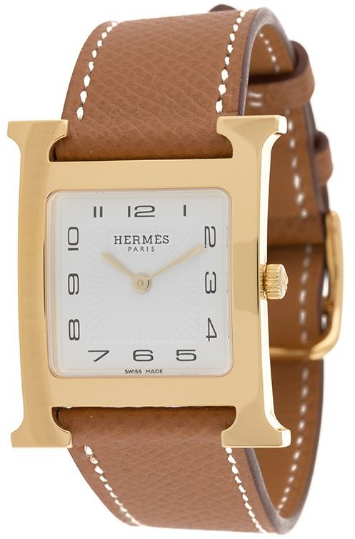 Hermes 2018 pre-owned H face watch