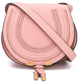 Chloé mini Marcie round saddle bag