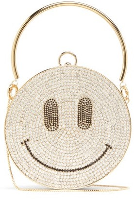 Rosantica Smile Crystal-embellished Clutch Bag - Womens - Crystal