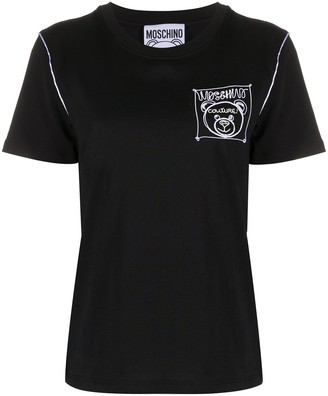 Moschino embroidered-logo T-shirt